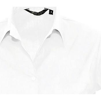 Textil Ženy Košile / Halenky Sols ESCAPE POPELIN WOMEN Blanco