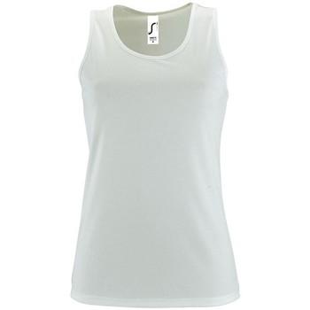 Textil Ženy Tílka / Trička bez rukávů  Sols SPORT TT WOMEN Blanco