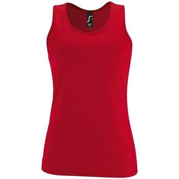 Textil Ženy Tílka / Trička bez rukávů  Sols SPORT TT WOMEN Rojo