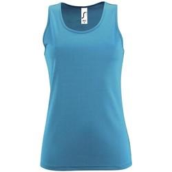 Textil Ženy Tílka / Trička bez rukávů  Sols SPORT TT WOMEN Azul