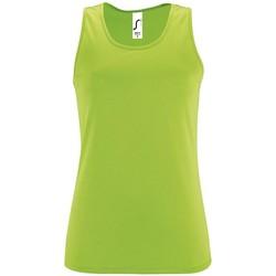 Textil Ženy Tílka / Trička bez rukávů  Sols SPORT TT WOMEN Verde