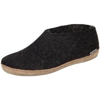 Boty Ženy Papuče Glerups DK Shoe Charcoal Lammwollfilz Černé