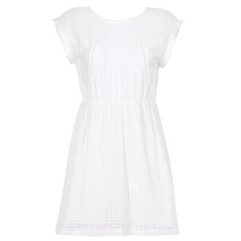 Textil Ženy Krátké šaty Moony Mood INDI Bílá