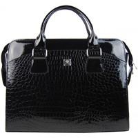 Taška Ženy Taška na notebook Punce LC-01 černá dámská kabelka pro notebook do 15.6 palce černá
