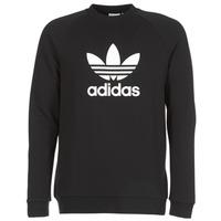 Textil Muži Mikiny adidas Originals TREFOIL CREW Černá