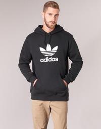 Textil Muži Mikiny adidas Originals TREFOIL HOODIE Černá