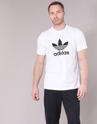 Textil Muži Trička s krátkým rukávem adidas Originals TREFOIL T-SHIRT Bílá