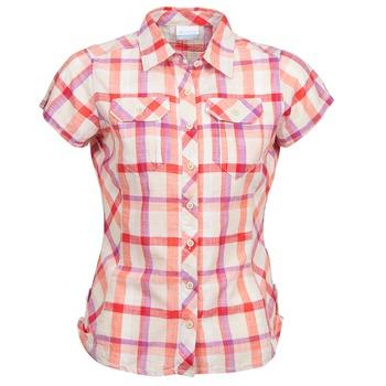 Textil Ženy Košile s krátkými rukávy Columbia CAMP HENRY