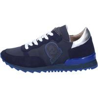 Boty Ženy Módní tenisky Invicta sneakers blu tessuto camoscio AB54 Blu