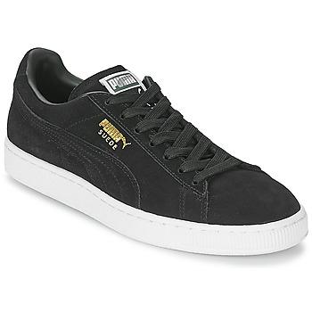 Boty Nízké tenisky Puma SUEDE CLASSIC Černá