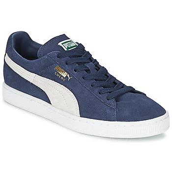 Boty Nízké tenisky Puma SUEDE CLASSIC Modrá / Bílá
