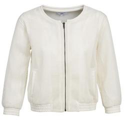 Textil Ženy Saka / Blejzry Suncoo DANA Bílá