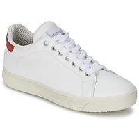 Boty Ženy Nízké tenisky Meline AIMEE Bílá / Červená