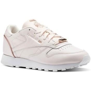 Boty Ženy Nízké tenisky Reebok Sport CL Lthr Růžové