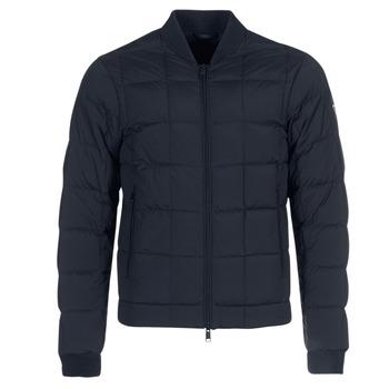 Textil Muži Prošívané bundy Emporio Armani REWA Tmavě modrá