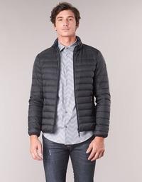Textil Muži Prošívané bundy Emporio Armani TRAS Černá