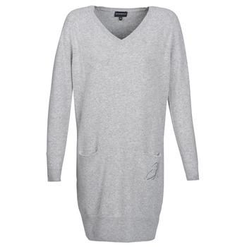 Textil Ženy Krátké šaty Emporio Armani CROWA Šedá