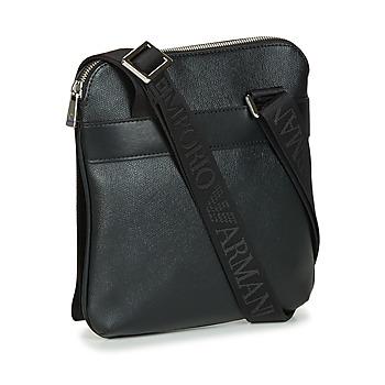 Emporio Armani BUSINESS FLAT MESSENGER BAG