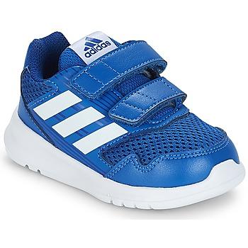Boty Děti Nízké tenisky adidas Performance ALTARUN CF I Modrá
