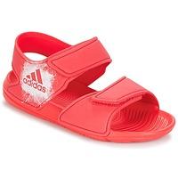 Boty Dívčí Sandály adidas Performance ALTASWIM C Růžová