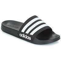 Boty pantofle adidas Originals ADILETTE SHOWER Černá