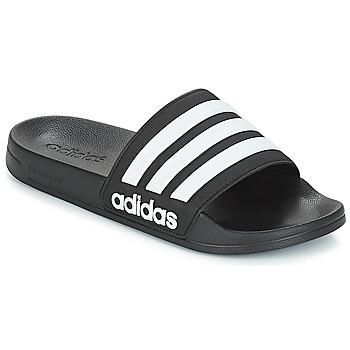 Boty pantofle adidas Performance ADILETTE SHOWER Černá