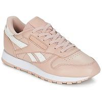 Boty Ženy Nízké tenisky Reebok Classic CLASSIC LEATHER Růžová / Bílá
