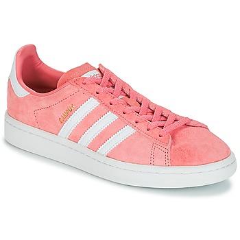 Boty Ženy Nízké tenisky adidas Originals CAMPUS W Růžová