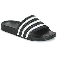 Boty pantofle adidas Originals ADILETTE Černá / Bílá