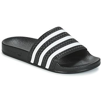 Boty Nízké tenisky adidas Originals ADILETTE Černá / Bílá
