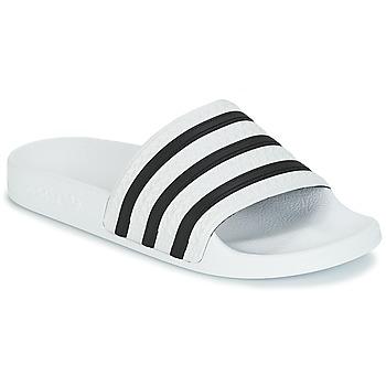 Boty pantofle adidas Originals ADILETTE Bílá / Černá