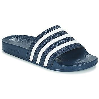 Boty pantofle adidas Originals ADILETTE Tmavě modrá / Bílá