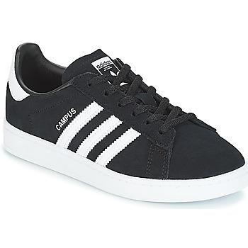 Boty Děti Nízké tenisky adidas Originals CAMPUS C Černá