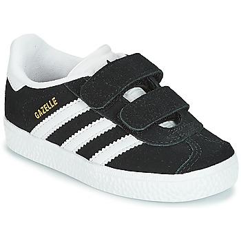 Boty Děti Nízké tenisky adidas Originals GAZELLE CF I Černá