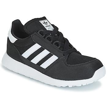 Boty Děti Nízké tenisky adidas Originals OREGON C Černá