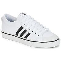 Boty Nízké tenisky adidas Originals NIZZA Bílá / Černá