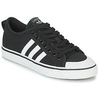Boty Nízké tenisky adidas Originals NIZZA Černá / Bílá