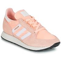 Boty Ženy Nízké tenisky adidas Originals OREGON W Růžová