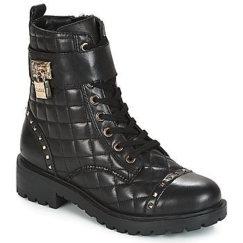 Guess Kotníkové boty HOLDY - Černá