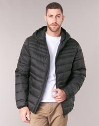 Textil Muži Prošívané bundy Geox DENNIE Černá