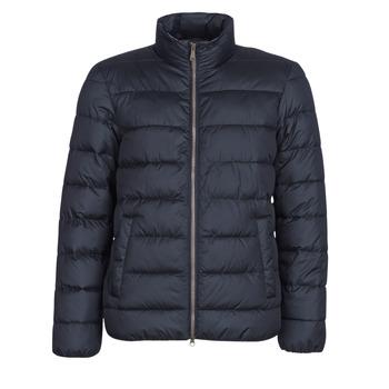 Textil Muži Prošívané bundy Geox WELLS Tmavě modrá