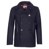 Textil Muži Kabáty Harrington PCOAT Tmavě modrá