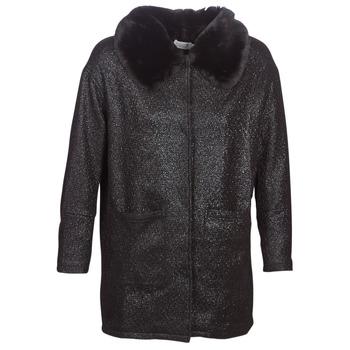 Textil Ženy Kabáty Molly Bracken QUIEN Černá