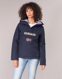 Textil Ženy Parky Napapijri RAINFOREST WINTER Tmavě modrá