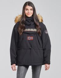 Textil Ženy Parky Napapijri SKIDOO Černá