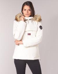 Textil Ženy Parky Napapijri SKIDOO Bílá