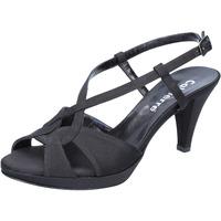 Boty Ženy Sandály Calpierre sandali nero raso BZ739 Nero