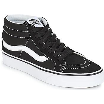 Boty Kotníkové tenisky Vans SK8-MID REISSUE Černá / Bílá
