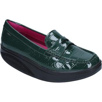Boty Ženy Mokasíny Mbt Mokasíny BZ906 Zelená