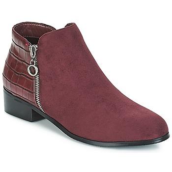 Boty Ženy Kotníkové boty Moony Mood JADE Červená